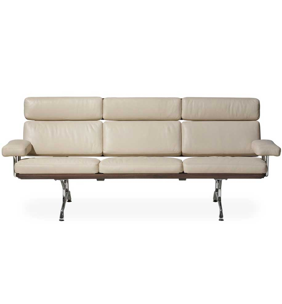 Eames 3-seater Sofa - Charles & Ray Eames
