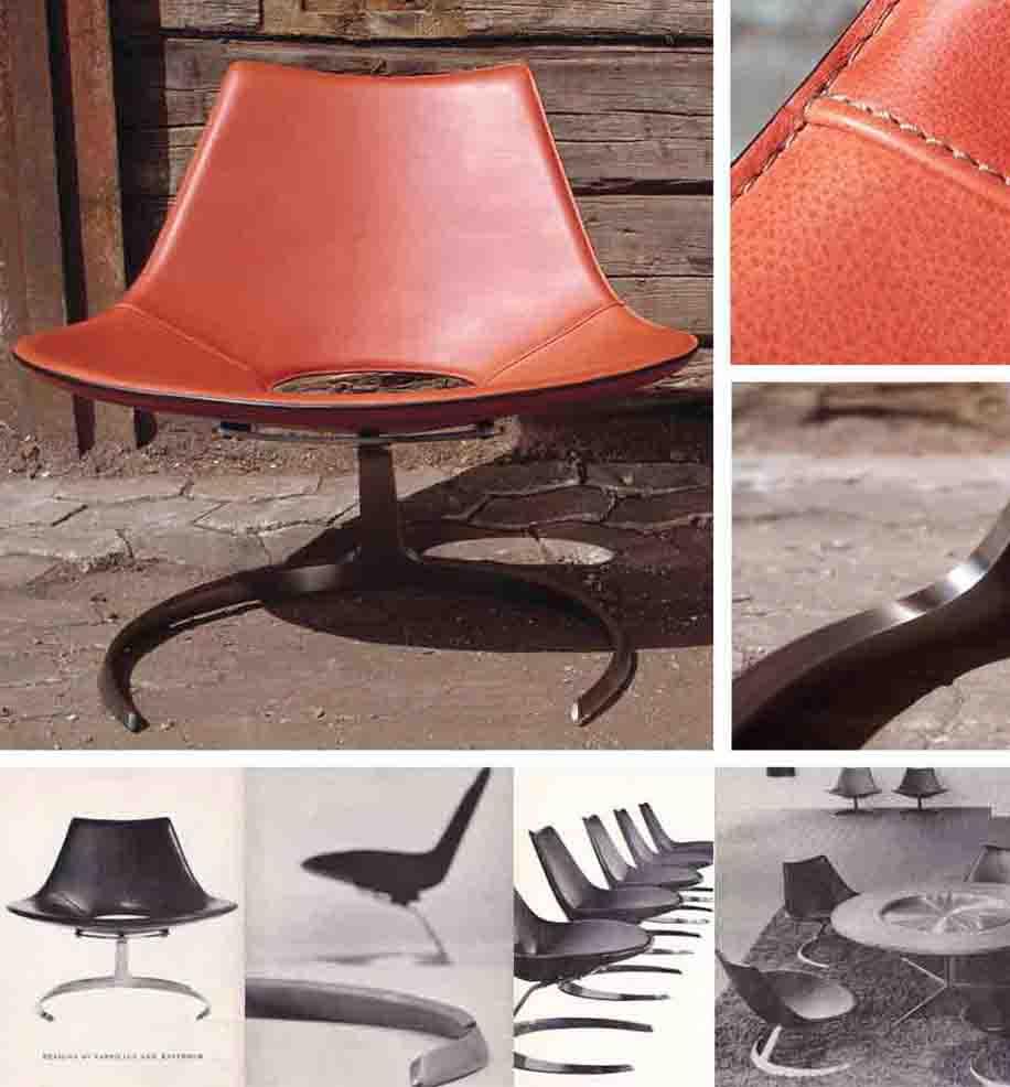 Scimitar Chair in Ginger - Fabricius & Kastholm