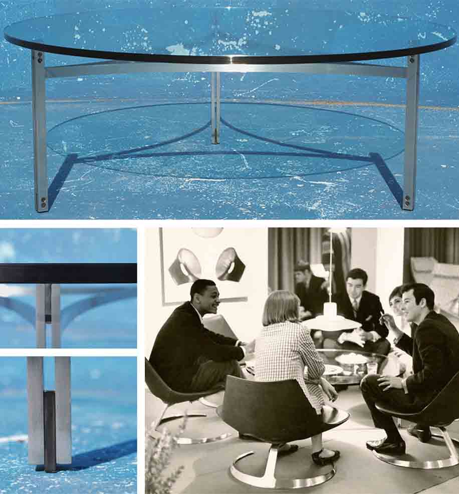 Scimitar Table - Fabricius & Kastholm